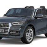 """Elektro Kinderfahrzeug lizenziert """"Audi Q5 Doppelsitzer"""" mit 2 Motoren und Fernsteuerung - S-11"""