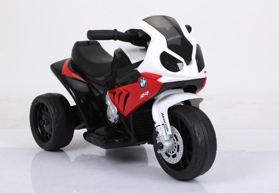 """Elektro Kinderfahrzeug lizenziert """"Bmw Motorrad"""" Dreirad - R-1"""