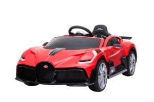 "Kinderfahrzeug – ""Bugatti Divo"" – Lizenziert – 12V7AH, 2 Motoren- 2,4Ghz Fernsteuerung, MP3, Ledersitz+EVA+Lackiert"