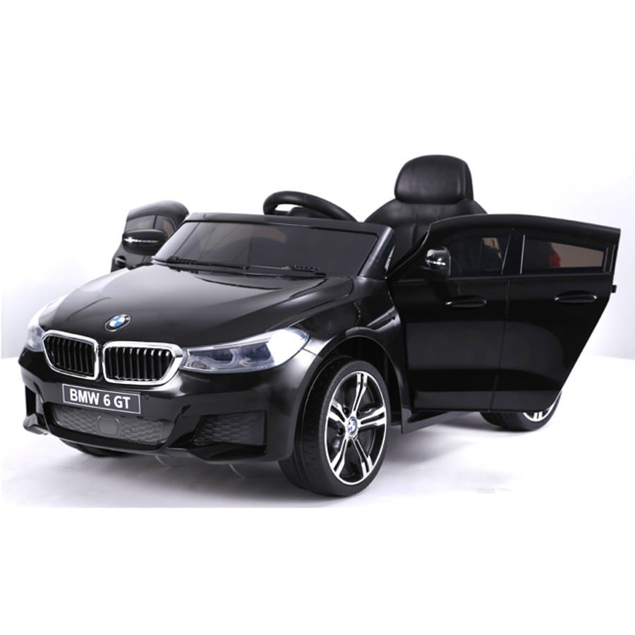 "Kinderfahrzeug – ""BMW 6GT"" – Lizenziert – 12V, 2 Motoren+ 2,4Ghz+ Ledersitz+EVA"