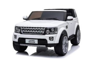 "Kinderfahrzeug – ""Land Rover Discovery 4 Doppelsitzer"" – Lizenziert – 12V7AH, 2 Motoren- 2,4Ghz Fernsteuerung, MP3, Ledersitz+EVA"