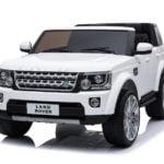 """Elektro Kinderfahrzeug lizenziert """"Land Rover Discovery 4"""" mit 2 Motoren und Fernsteuerung - W-9"""
