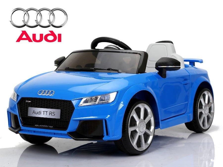 """Elektro Kinderfahrzeug lizenziert """"Audi TTRS"""" mit 2 Motoren und Fernsteuerung - B-1"""