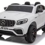 """Elektro Kinderfahrzeug lizenziert """"Mercedes GLC63S AMG"""" mit 2 Motoren und Fernsteuerung - W-11"""
