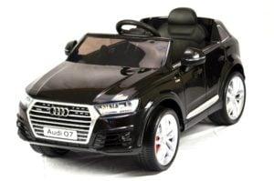 """Kinderfahrzeug – """"Audi Q7 S-Line"""" – Lizenziert – 12V7AH Akku,2 Motoren- Fernsteuerung, MP3, Ledersitz + EVA"""
