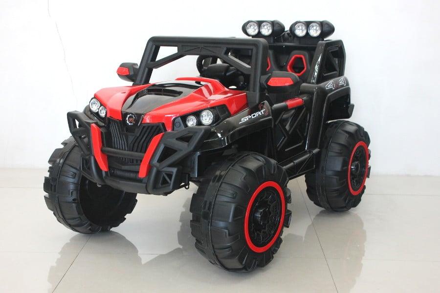 "Elektro Kinderfahrzeug lizenziert mit 2 Motoren ""Buggy 98"" ferngesteuert - R 1"