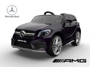 """Kinderfahrzeug – Elektro Auto """"Mercedes A45 AMG"""" – lizenziert – 12V7AH; 2,4Ghz, MP3+Ledersitz"""