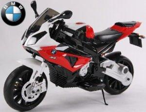 "Kinderfahrzeug – Elektro Kindermotorrad – von BMW lizenziert ""S1000RR"" 12V7Ah+EVA Reifen"
