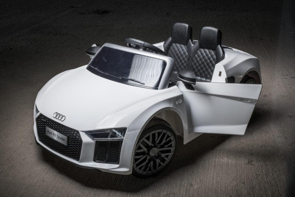 "Elektro Kinderfahrzeug lizenziert mit 2 Motoren ""Audo TTRS"" ferngesteuert - W-1"
