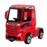 Elektro Kinderfahrzeug lizenziert mit 4 Motoren Mercedes Actros LKW -11