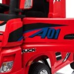Elektro Kinderfahrzeug lizenziert mit 4 Motoren Mercedes Actros LKW -5