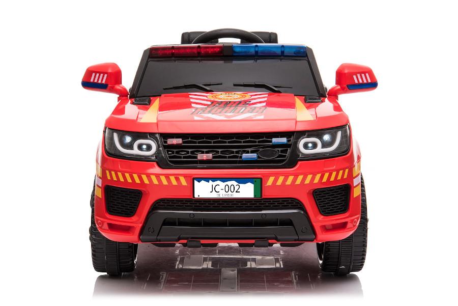 """Kinderfahrzeug - Elektro Auto """"Feuerwehr RR002"""" mit 2,4Ghz Fernsteuerung, MP3+Sirene-2"""