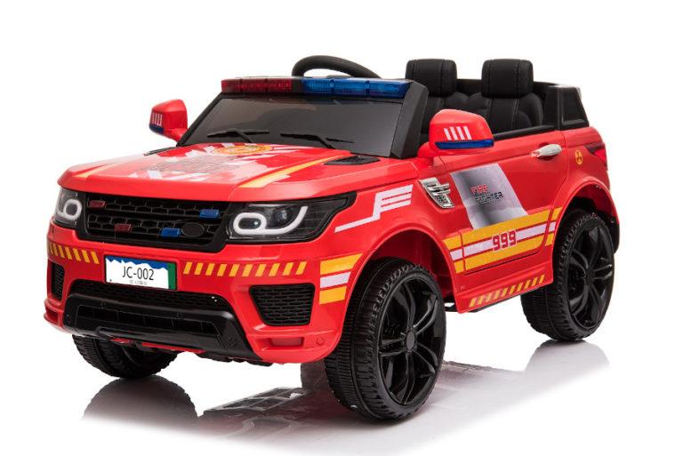 """Kinderfahrzeug - Elektro Auto """"Feuerwehr RR002"""" mit 2,4Ghz Fernsteuerung, MP3+Sirene-3"""