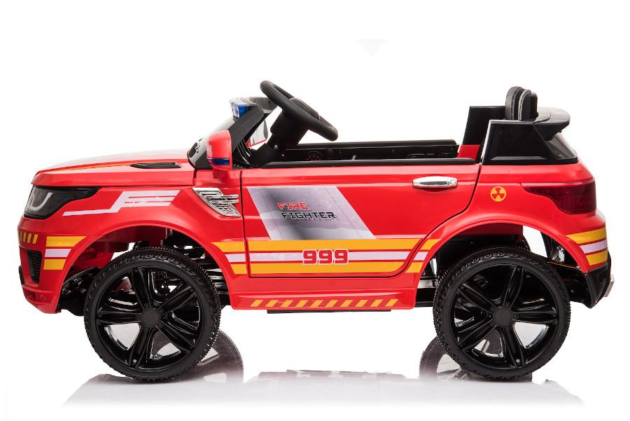 """Kinderfahrzeug - Elektro Auto """"Feuerwehr RR002"""" mit 2,4Ghz Fernsteuerung, MP3+Sirene-4"""