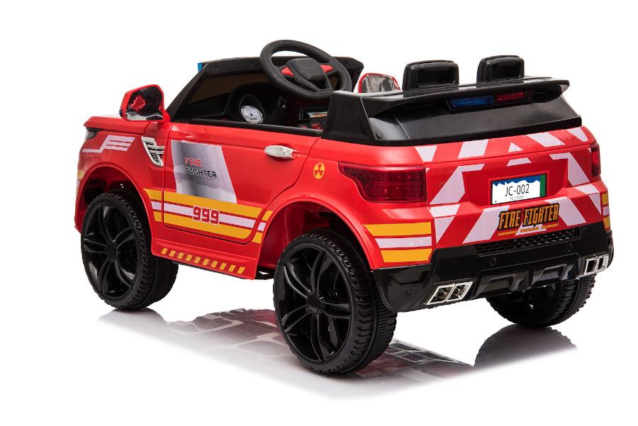 """Kinderfahrzeug - Elektro Auto """"Feuerwehr RR002"""" mit 2,4Ghz Fernsteuerung, MP3+Sirene-5"""