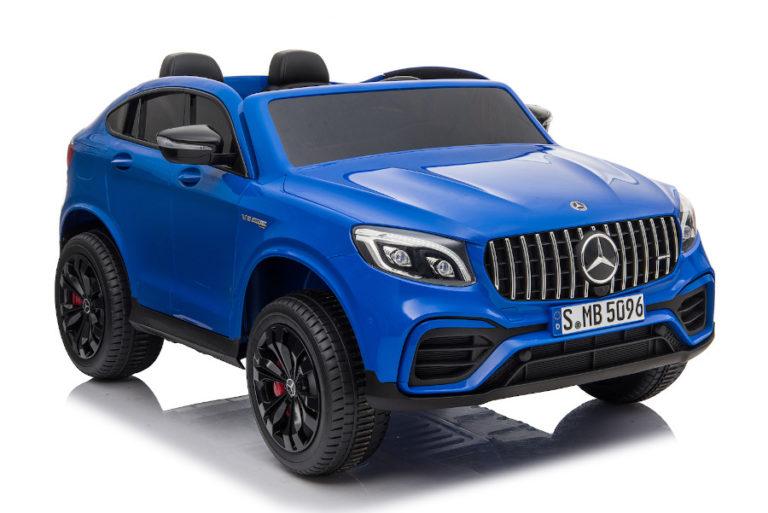 """Kinderfahrzeug - Elektro Auto """"Mercedes GLC63S"""" - lizenziert - Doppelsitzer mit Ledersitz-1"""