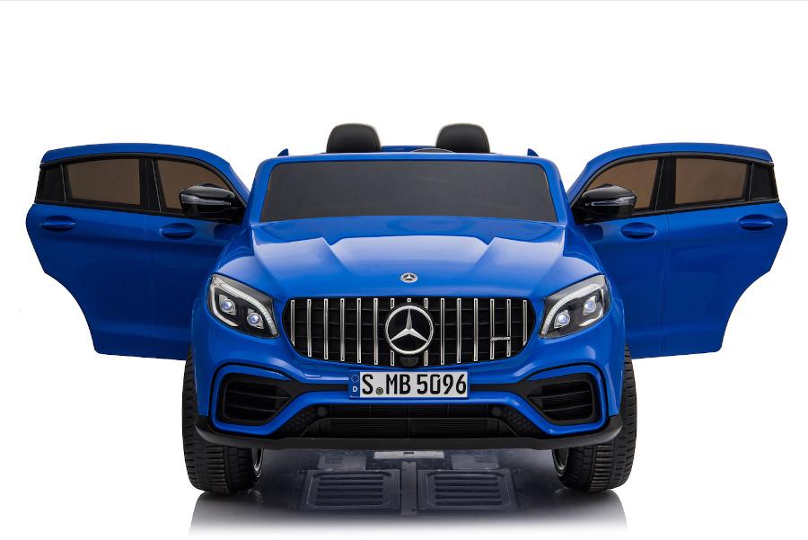 """Kinderfahrzeug - Elektro Auto """"Mercedes GLC63S"""" - lizenziert - Doppelsitzer mit Ledersitz-2"""