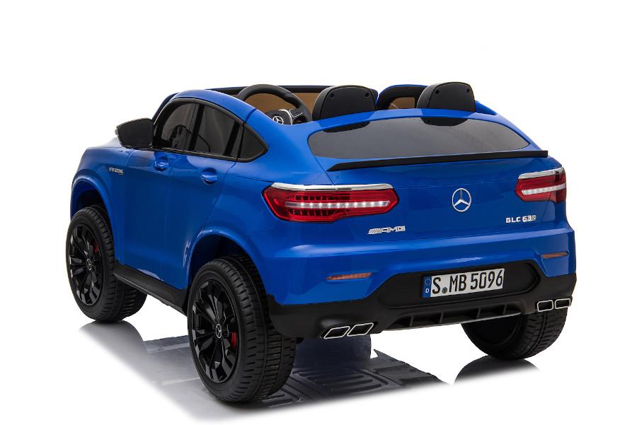 """Kinderfahrzeug - Elektro Auto """"Mercedes GLC63S"""" - lizenziert - Doppelsitzer mit Ledersitz-4"""