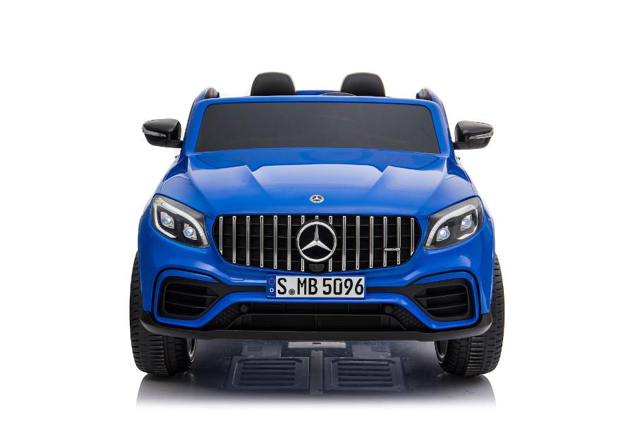 """Kinderfahrzeug - Elektro Auto """"Mercedes GLC63S"""" - lizenziert - Doppelsitzer mit Ledersitz-5"""