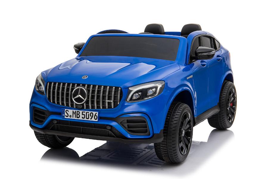 """Kinderfahrzeug - Elektro Auto """"Mercedes GLC63S"""" - lizenziert - Doppelsitzer mit Ledersitz-6"""