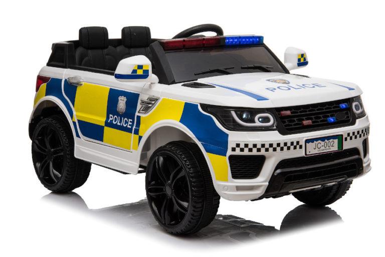 """Kinderfahrzeug - Elektro Auto """"Polizei RR002"""" mit 2,4Ghz Fernsteuerung, MP3+Sirene-1"""