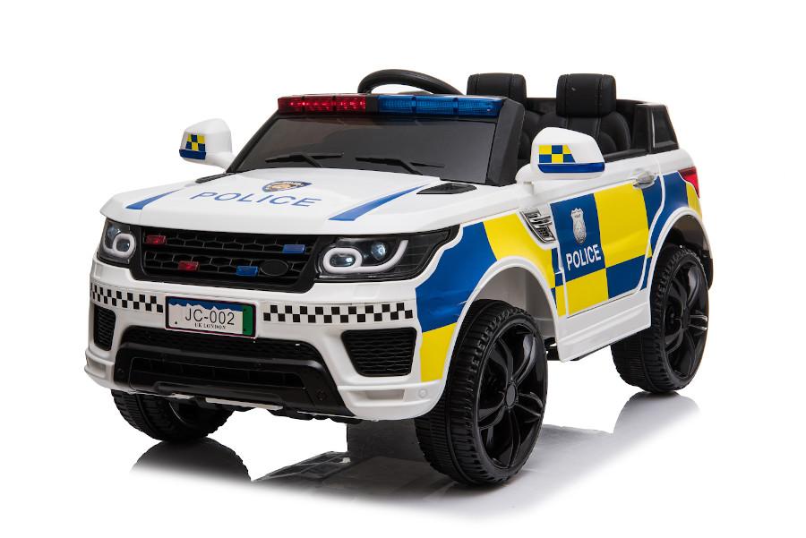 """Kinderfahrzeug - Elektro Auto """"Polizei RR002"""" mit 2,4Ghz Fernsteuerung, MP3+Sirene-3"""