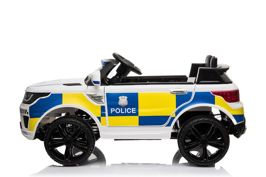 """Kinderfahrzeug - Elektro Auto """"Polizei RR002"""" mit 2,4Ghz Fernsteuerung, MP3+Sirene-4"""