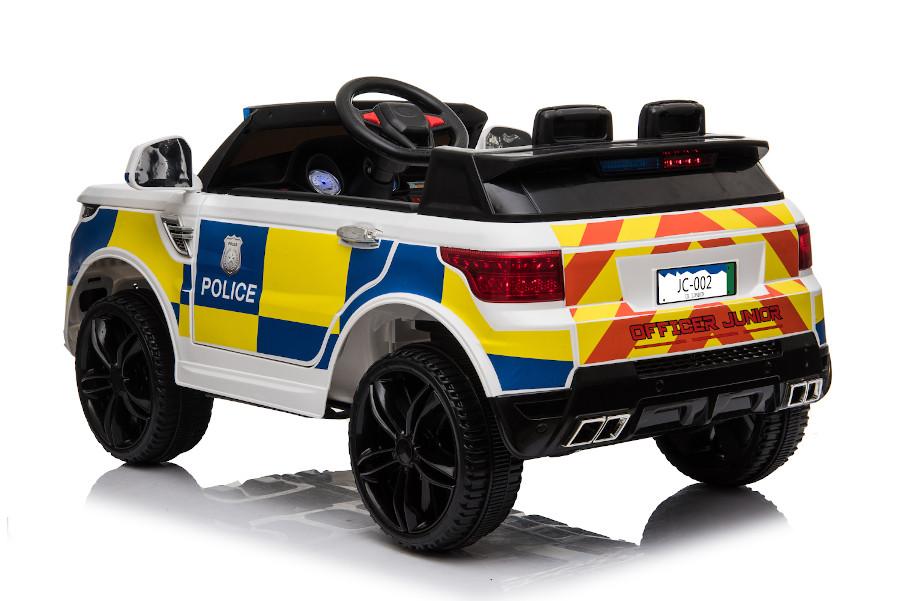 """Kinderfahrzeug - Elektro Auto """"Polizei RR002"""" mit 2,4Ghz Fernsteuerung, MP3+Sirene-5"""